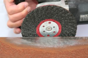 Semi Flexible disc for rust, coating, glue and mastic removal